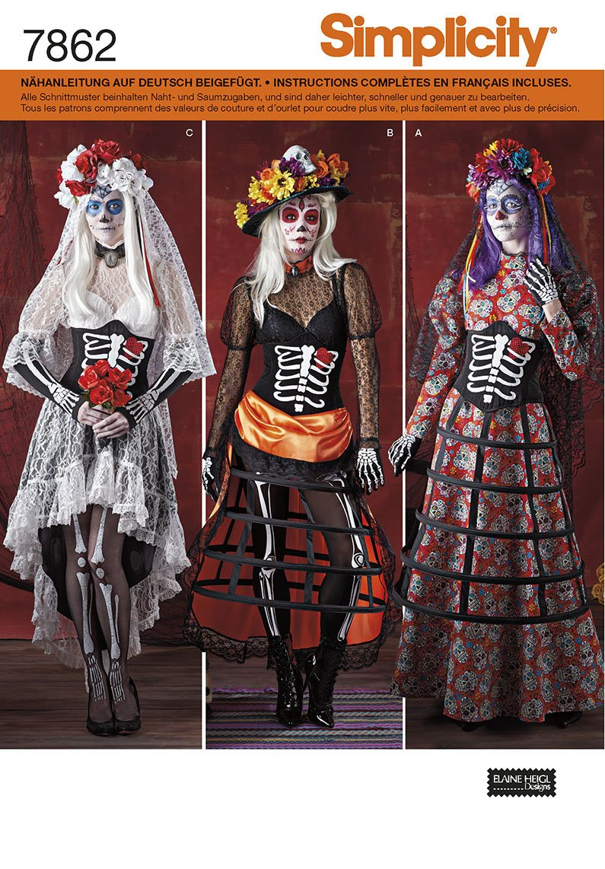 Fine Halloween Schnittmuster Festooning - Decke Stricken Muster ...