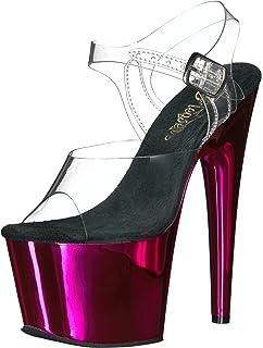 17036747d097 Pleaser Women s Adore-708 Ankle-Strap Sandal