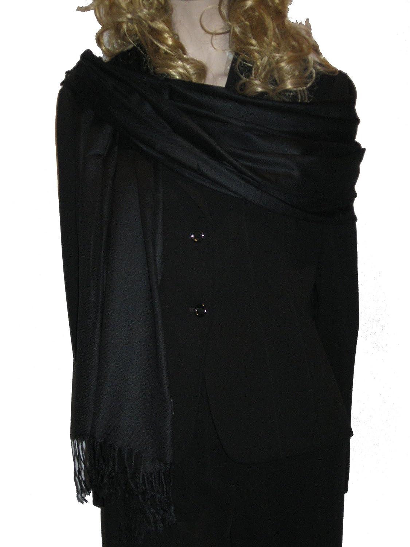 pashmina shawl scarf wrap summer shawl black at amazon womenu0027s clothing store black evening shawl stole wrap