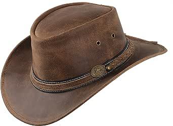 Scippis Irving Sombrero de Piel Sombrero del Oeste de Australia Sombrero de Vaquero Sombrero