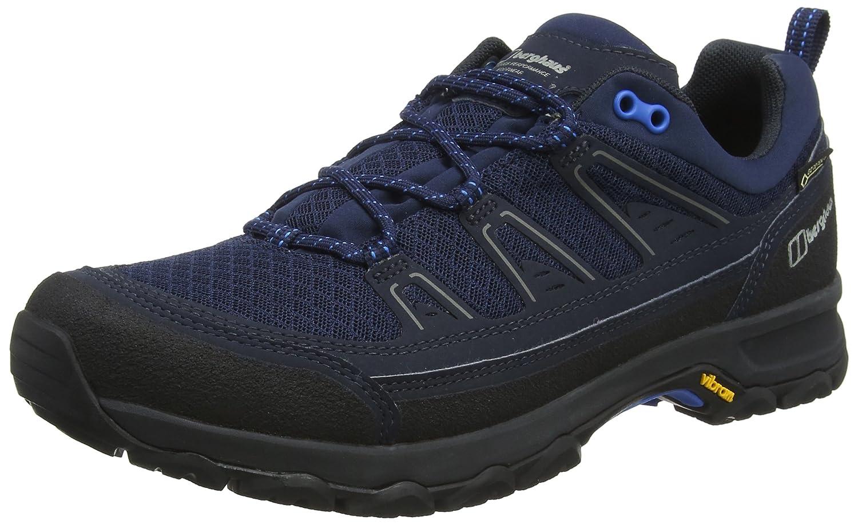 Bleu (Dusk bleu Bk1) 43 EU Berghaus Explorer Active Gore-tex en marchant chaussures, Chaussures de Randonnée Basses Homme