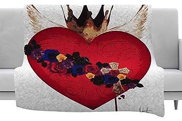 Amazon.com: Kess InHouse Oriana Cordero Sacred Heart for ...