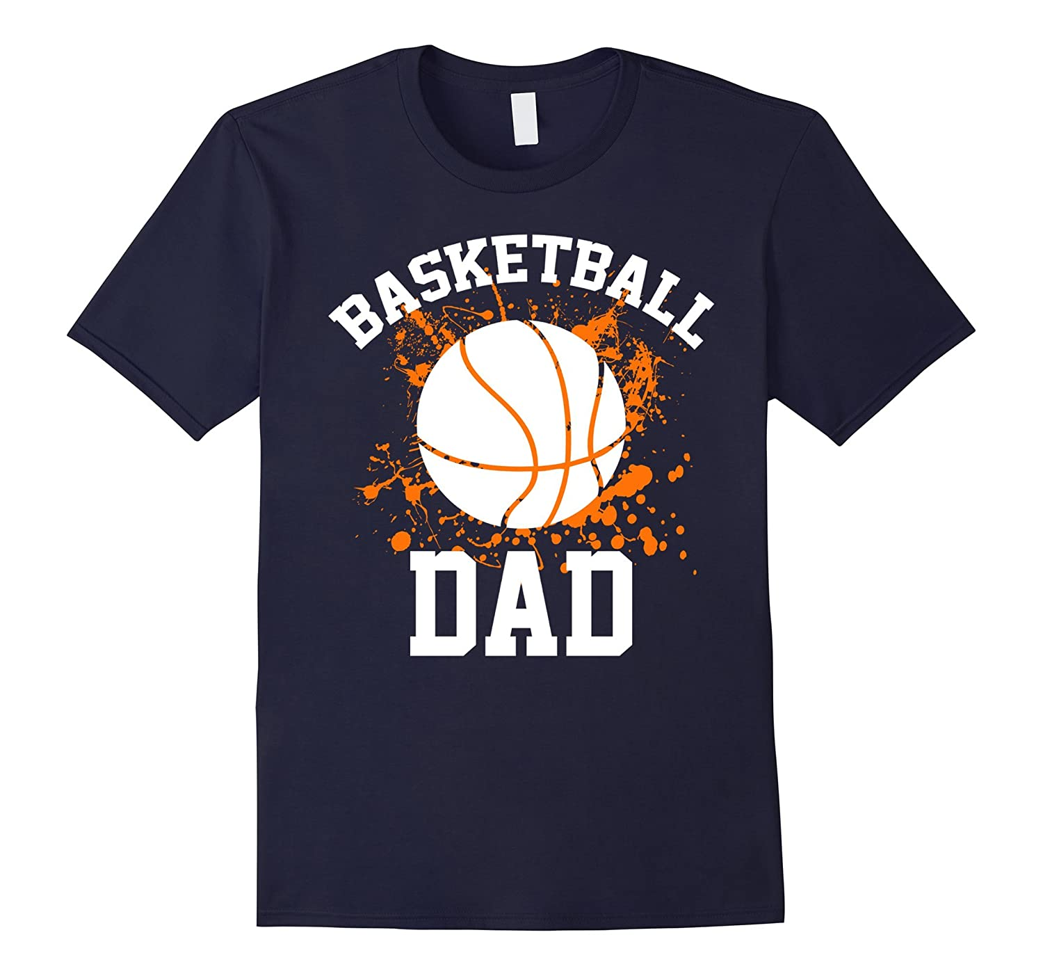 Basketball Dad T Shirt Father Gifts-TH