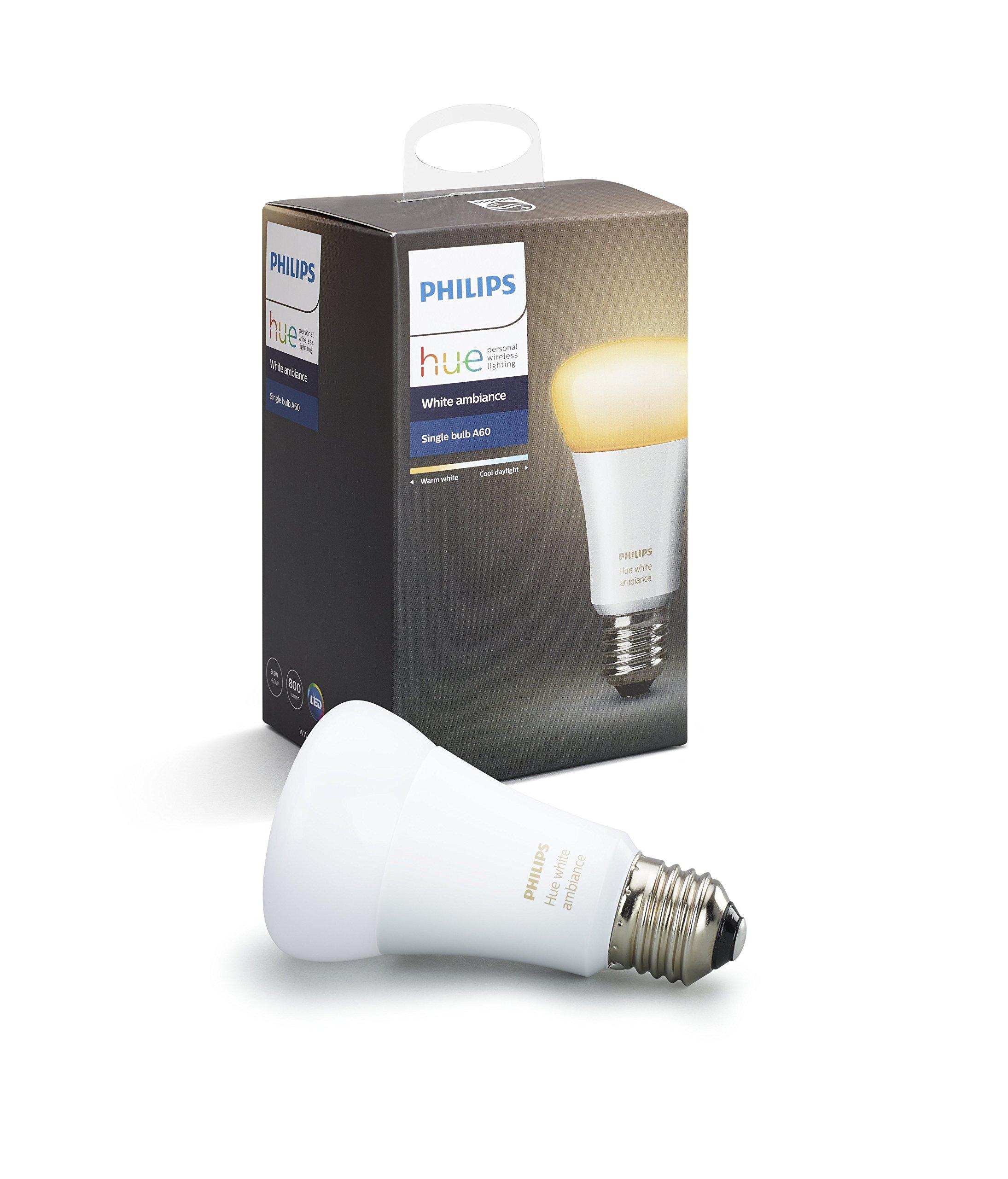 Philips Hue(ヒュー) ホワイトグラデーション シングルランプ 口金直径26mm 【Works with Alexa認定製品】