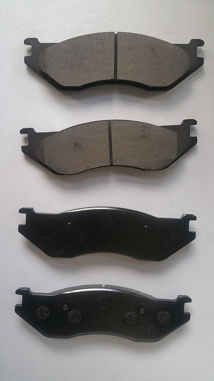 Front PROFORCE SMD966 Semi Metallic Disc Brake Pads Set Both Left and Right