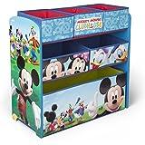Disney - Cassettiera organizer giocattoli in legno Mickey Mouse