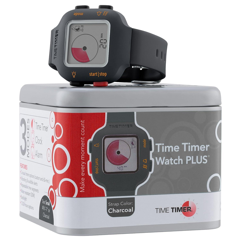 Amazon.com: Time Timer Reloj PLUS (tamaño pequeño y grande ...