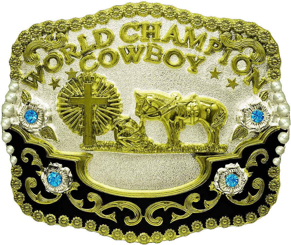 Cross /& Horse Western Mens Belt Buckles for women Cowboy Vintage Belt Buckles