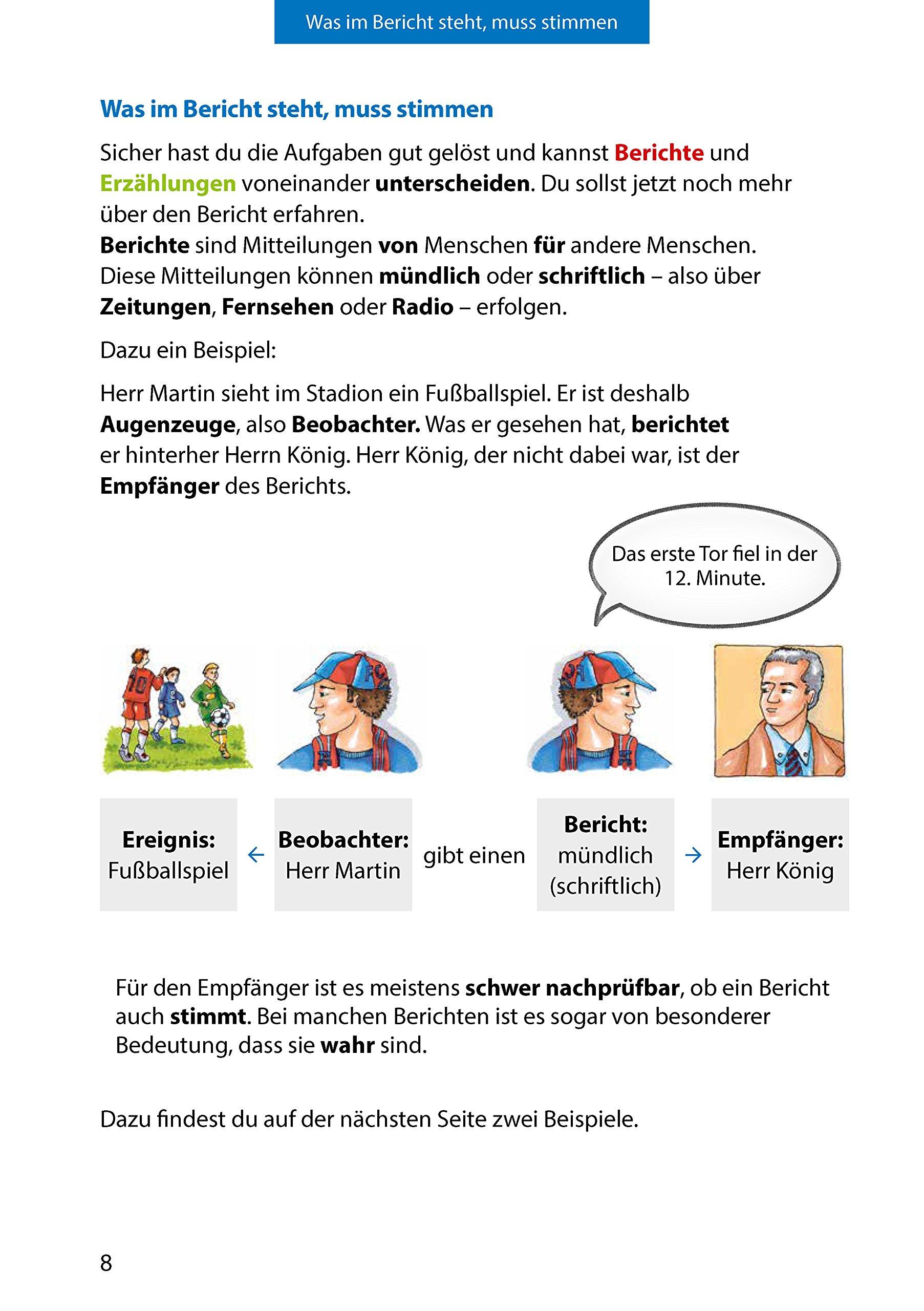 Bericht Aufsatz 5 7 Klasse Amazonde Gerhard Widmann Martina