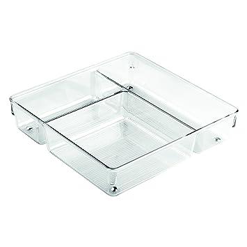 Schubladen Küche interdesign linus schubladen organizer mit 3 fächern für küche