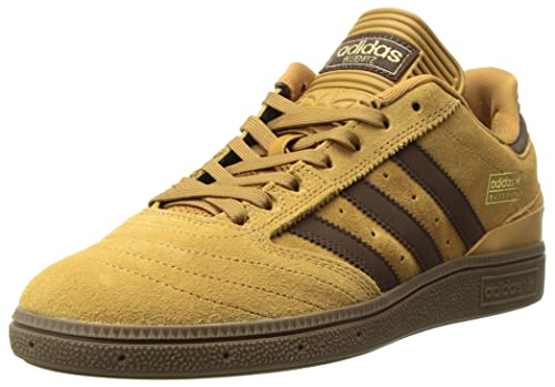 new style eb97b acb0e adidas Originals BUSENITZ, mens Busenitz Sneaker, Mesa Brown Gold Metallic,  3.5