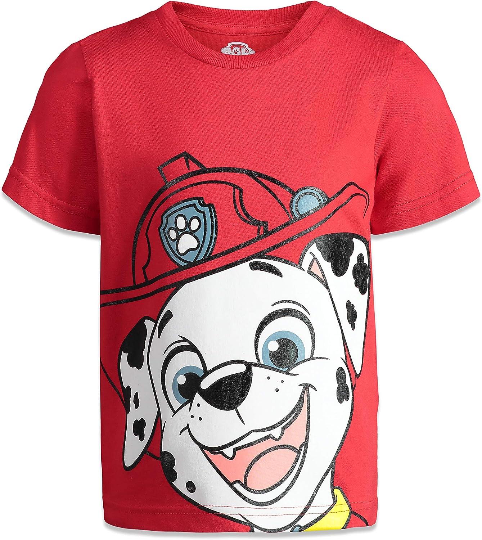 Nickelodeon Paw Patrol Boys 4 Pack T-Shirts