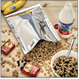 (60) 1-Gallon Genuine Mylar Bags + (60) 300cc Oxygen Absorbers for Long Term Food Storage by ShieldPro