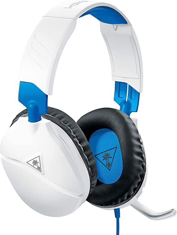 Turtle Beach Recon 70 White Gaming Headset for PlayStation 4 Pro