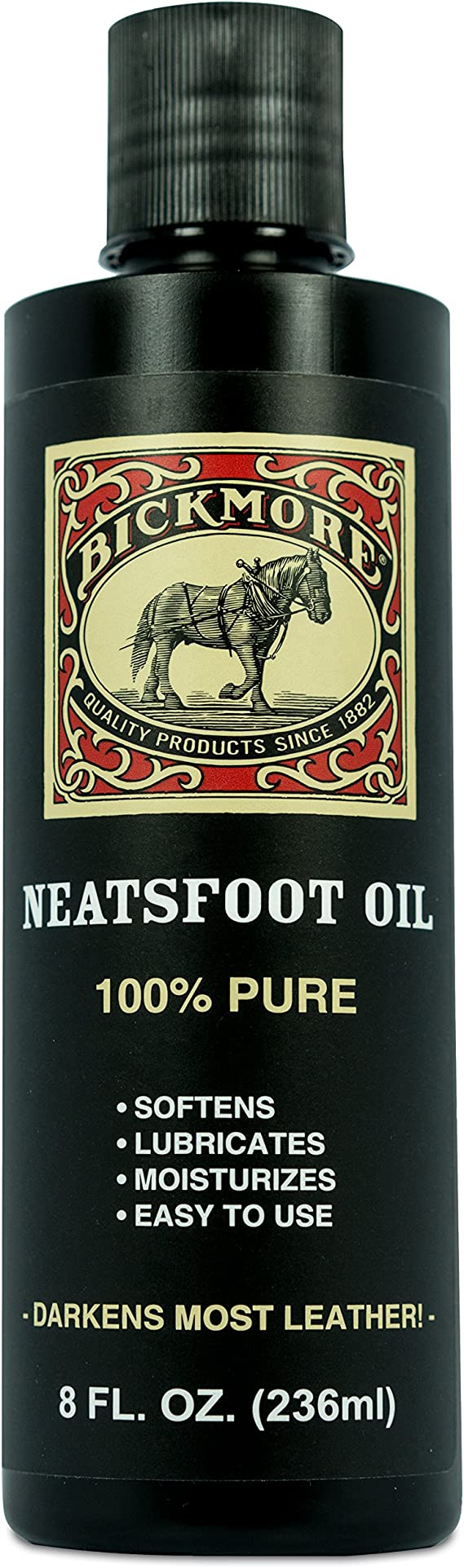 Bickmore 100% Pure Neatsfoot Oil 8 oz - Leather Conditioner