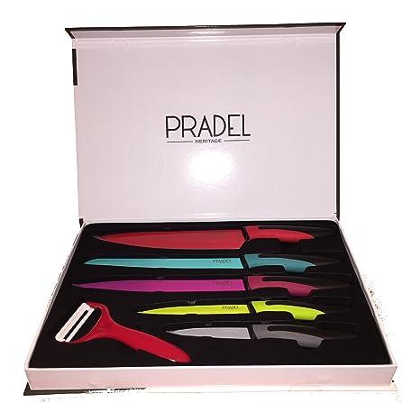 Compra Pradel Heritage 519609 Set de 5 cuchillos Multicolor ...