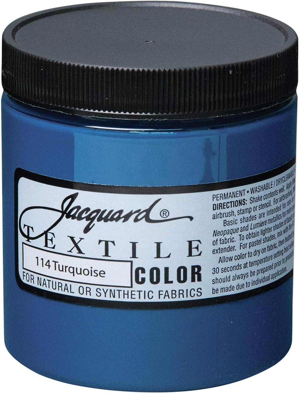 Jacquard Textile Paint 8 Oz Turquoise