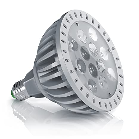 brandson - LED 24 W Planta Bombilla E27 de espectro total ...