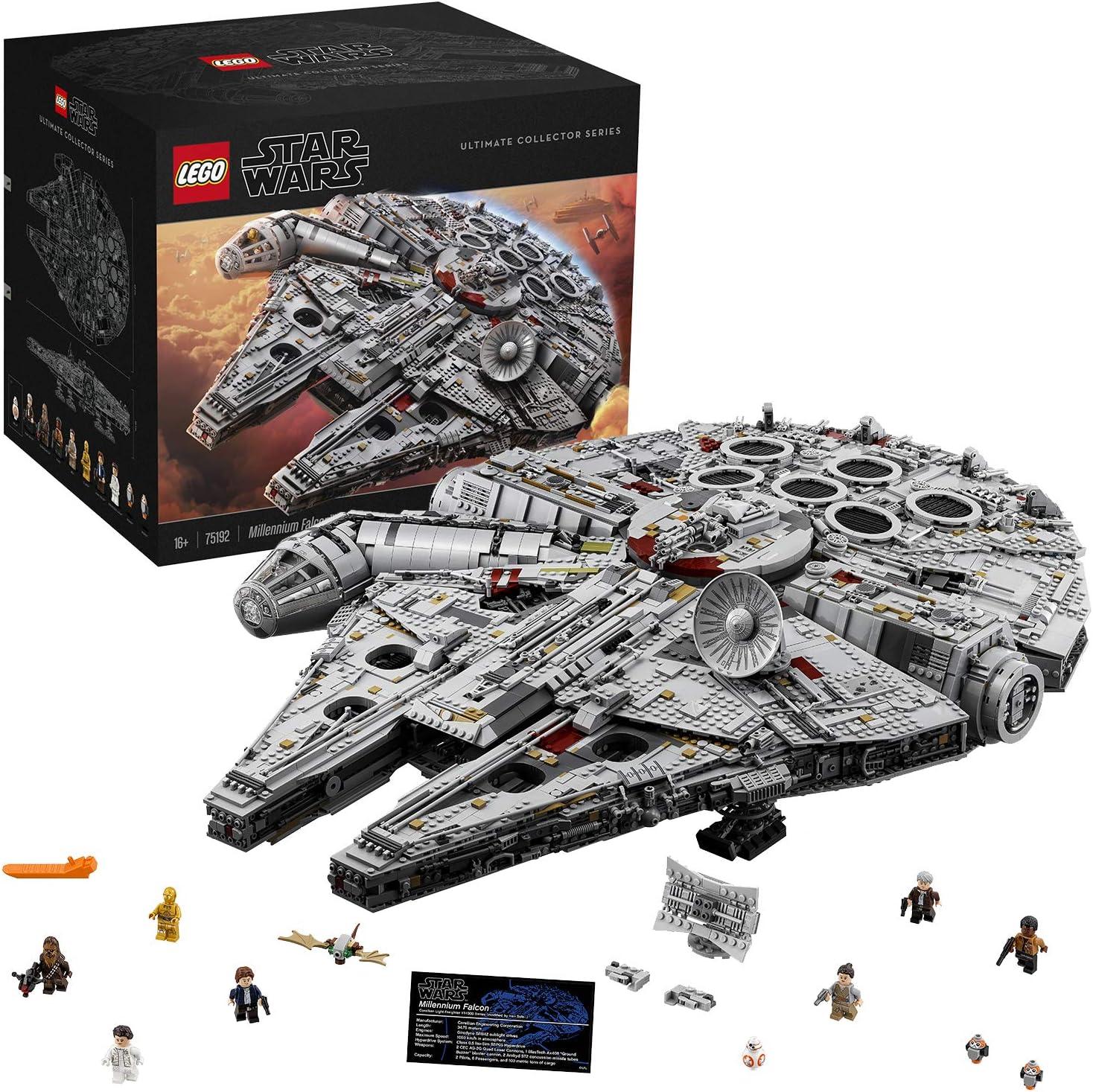 Star Wars Lego Millennium Falcon Ultimate Collector Series 75192 Spielzeug