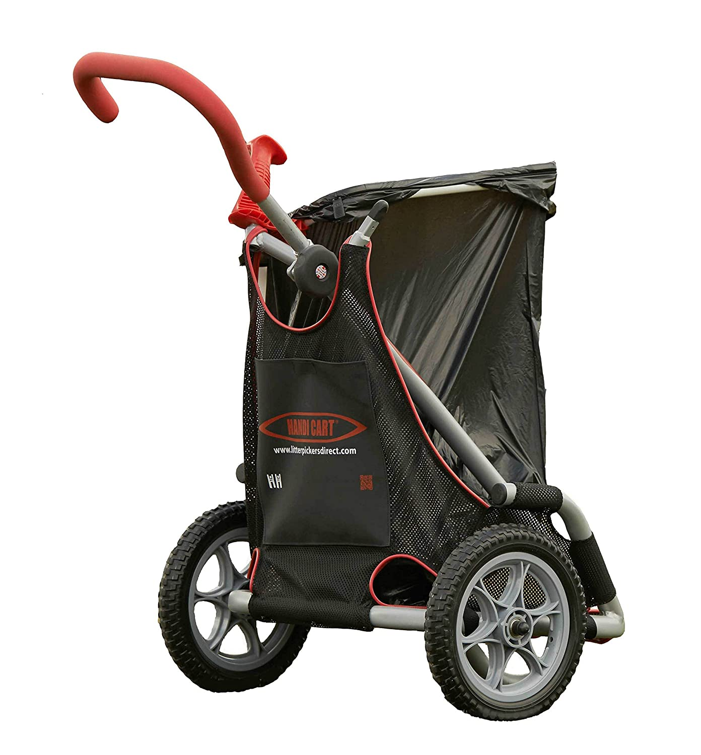 Red//Silver The Helping Hand Company Graptor Kids Litter Picker 27-Inch