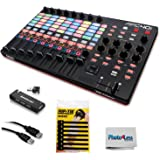 Akai Professional APC40 MKII Ableton Live Performance Controller with Ableton Live Lite Download + Cable + 4-Port USB + Pack of Cable ties & Photo4less Cleaning Cloth
