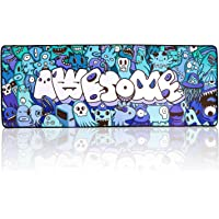 Mouse Pad Extended Large Gaming Mouse Pad Graffiti Anime Mouse pad Computer Keyboard Mousepad Mouse Mat Office Mousepad…