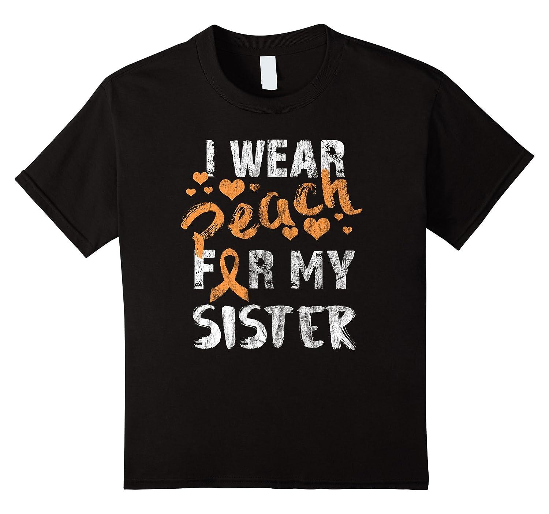 Womens Wear Peach Uterine Awareness-Teesml
