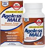 New Vitality Ageless Male Testosterone Booster Supplement for Muscle Growth & Sex Drive – 60 Tablets