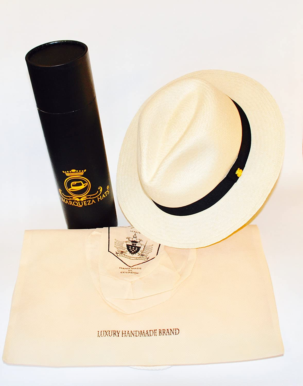 New MONTECRISTI SUPERFINO Genuine Panama Hat Rollable Foldable pin  Handwoven in Ecuador  Amazon.co.uk  Clothing 8b50f7f86a8b