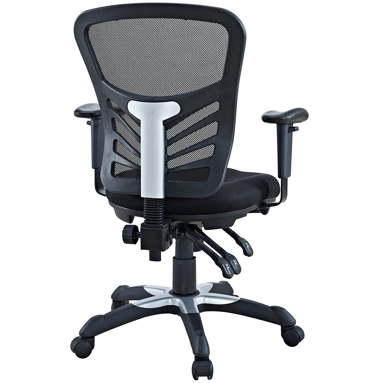 Amazon Modway Articulate Black Mesh fice Chair Kitchen