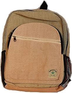 Mochila de fibra de cáñamo/ Mochila de cáñamo / mochila de día de cáñamo / mochila para la escuela, viajes, ocio,…