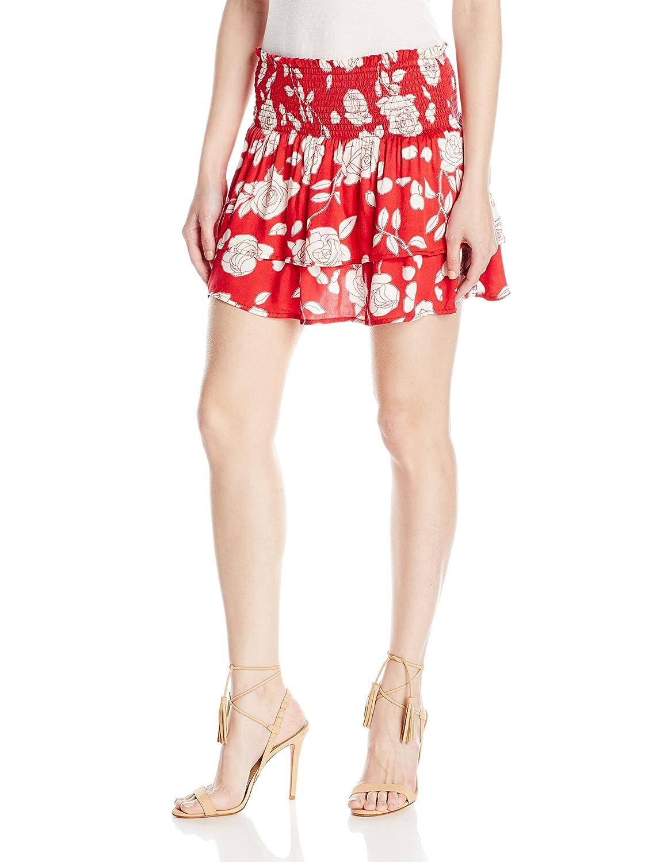 MINKPINK Women's Enchanted Rose Mini Skirt