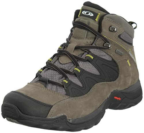 Salomon Elios 3 Mid GTX - Zapatillas de trekking Hombre - gris 2016, Gris/Negro, 46 2/3: Amazon.es: Deportes y aire libre
