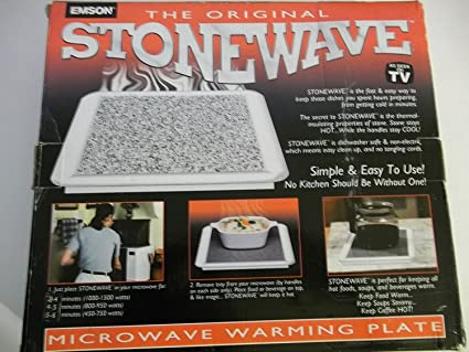 The Original Stonewave Microwave Warming Plate & Amazon.com: The Original Stonewave Microwave Warming Plate ...