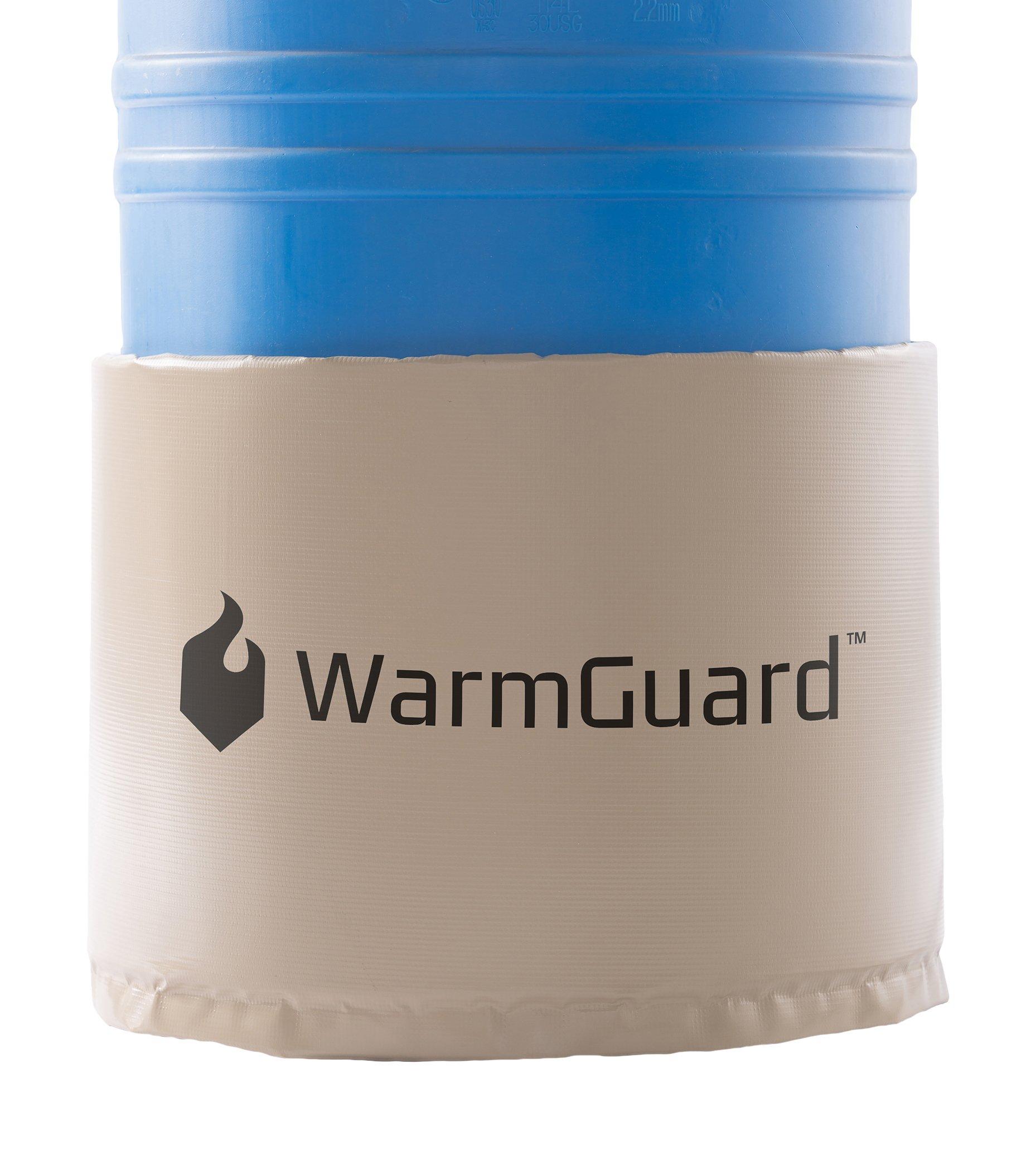 WarmGuard WG30 Insulated Drum Band Heater - Barrel Heater, Fixed Internal Thermostat Max Temp 145 F