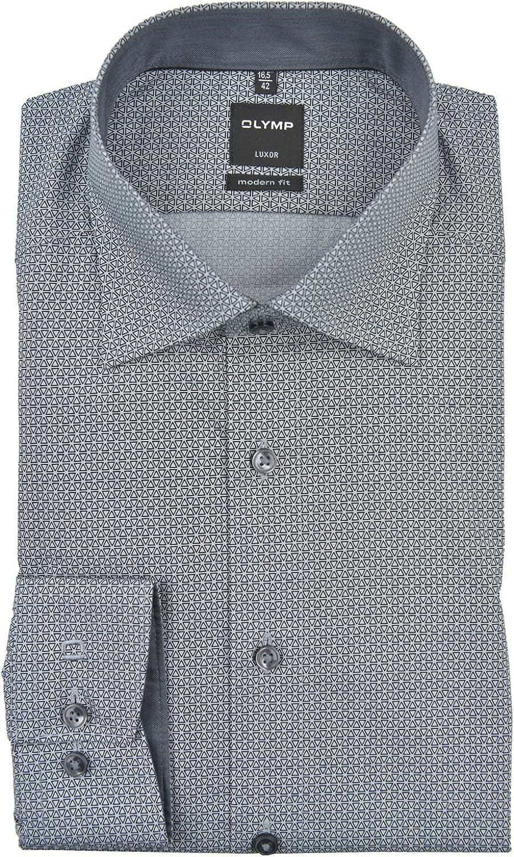 OLYMP - Camisa formal - Étnica - Clásico - Manga Larga - para ...