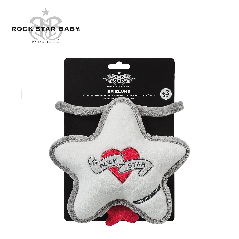 Einschlafhilfe f/ür Babys Brahms Wiegenlied Schlafhilfe zum Aufh/ängen Musikspieluhr Heart /& Wings ROCK STAR BABY/® by Tico Torres Spieluhr