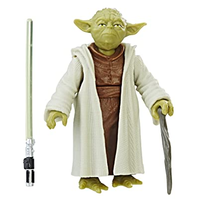 Star Wars Yoda Force Link Figure: Toys & Games