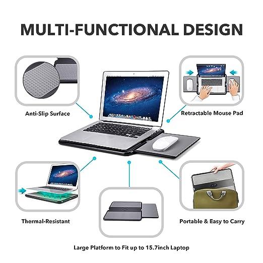 Amazon.com: AboveTEK - Escritorio portátil para ordenador ...