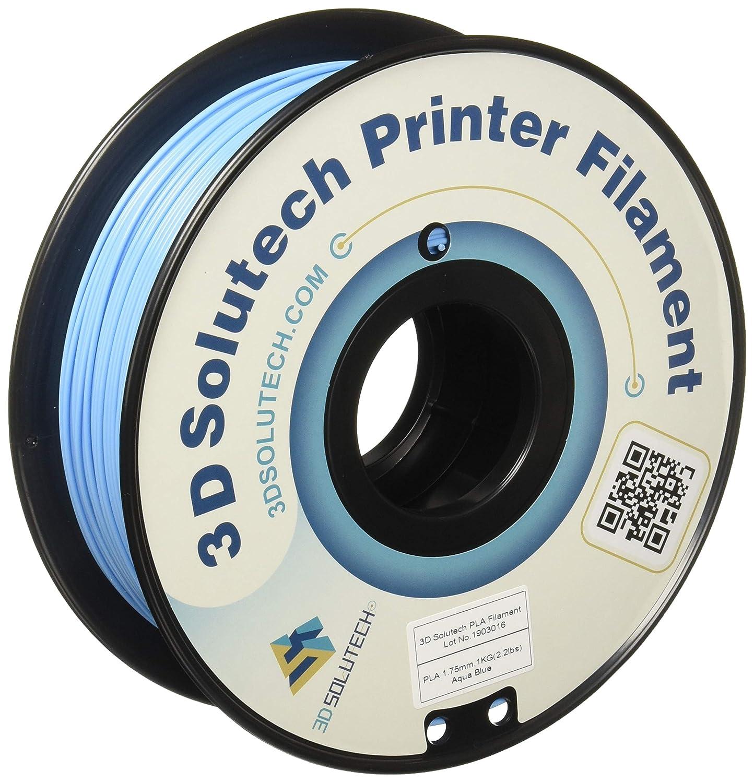 3D Solutech Aqua Blue 3D Printer Filamento PLA Filamento 1.75MM ...