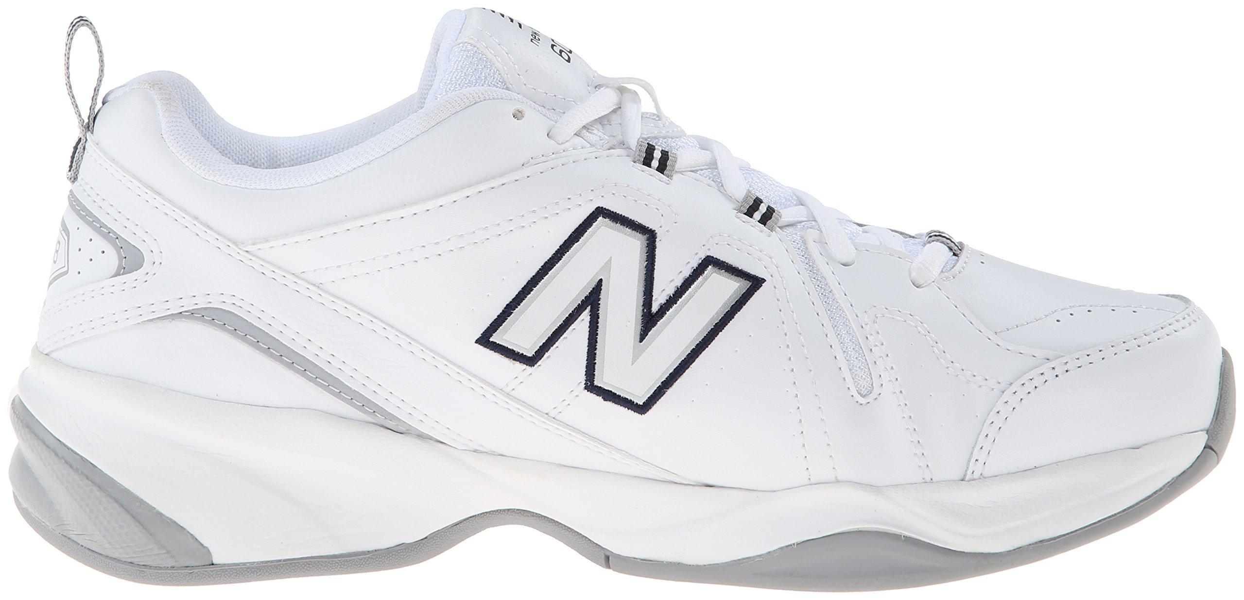 New Balance Women's WX608v4 Training Shoe, White/Navy, 8.5 D US by New Balance (Image #7)