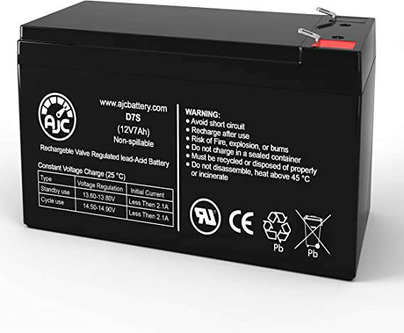 New Battery Cartridge for APC Back UPS XS 1000 Compatible Replacement by UPSBatteryCenter BX1000