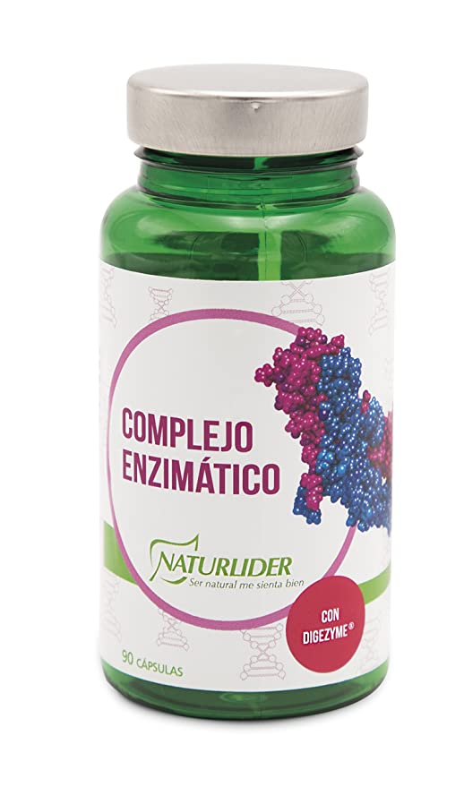 Naturlíder Complejo Enzimático Suplementos para Salud Digestiva - 90 ...