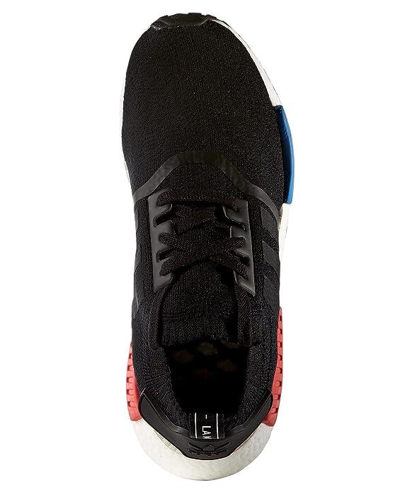 buy popular 3d9ab 98d3b Adidas NMD R1 PK Primeknit OG - Core BlackCore BlackLush Red Trainer  Amazon.co.uk Shoes  Bags