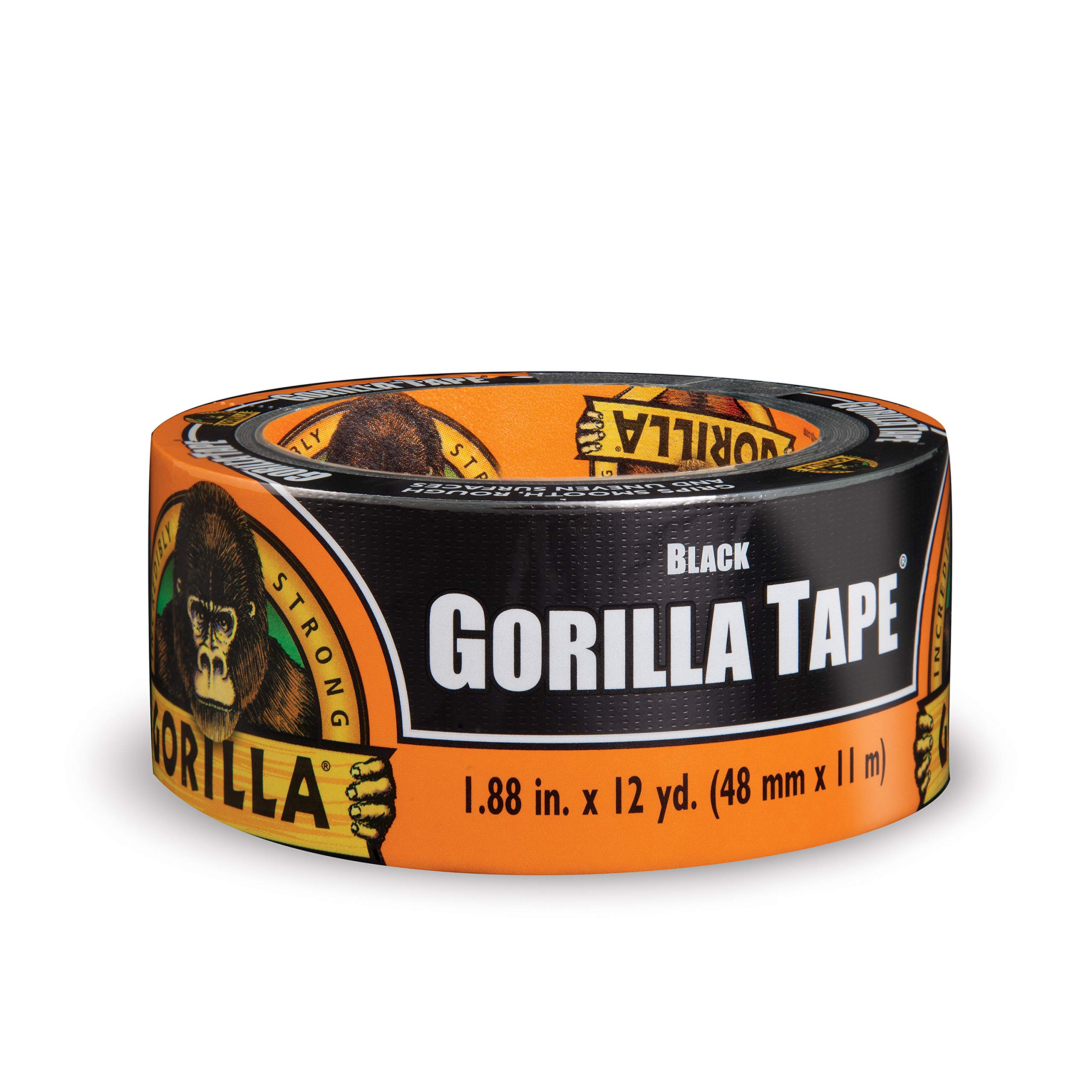 Gorilla 60122DF Duct Tape, 24 - Pack, Black by Gorilla