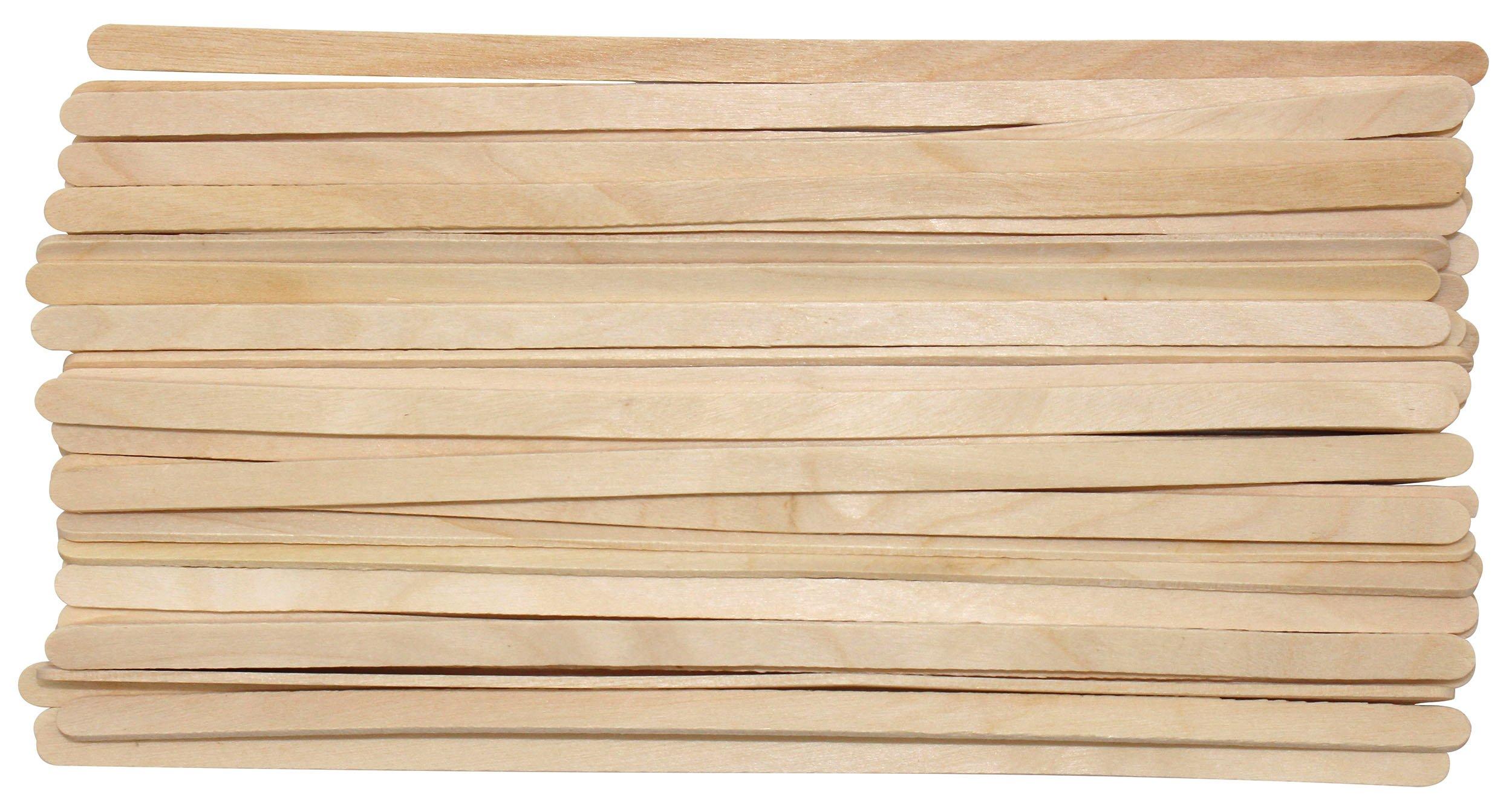 Disposable Birch Wood Coffee Stir Sticks Stirrers Wooden Tea Stir Stick Stirrer,7.5 Inch (1000Pcs)