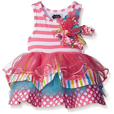 Mud Pie Baby Girls Tiered Birthday Party Tutu Dress