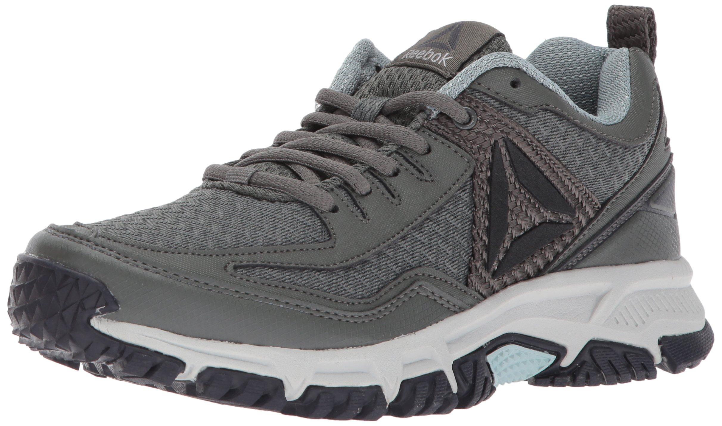 Reebok Women's Ridgerider Trail 2.0 Track Shoe, Ironstone/Seaside Grey/Coal/Skull Grey/Black/Silver/Pewter, 7.5 M US