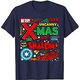 Hero Holidays - Christmas Kwanzaa Hanukkah Logos T-Shirt