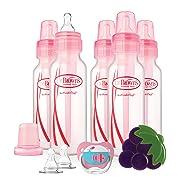 Dr. Brown's Original Bottle Gift Set, 8 Ounce, Pink